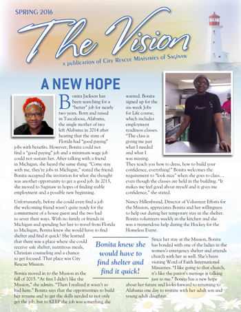 City Rescue Mission Newsletter